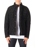 Scotch & Soda Quilted Field Jacket in Black  - 6