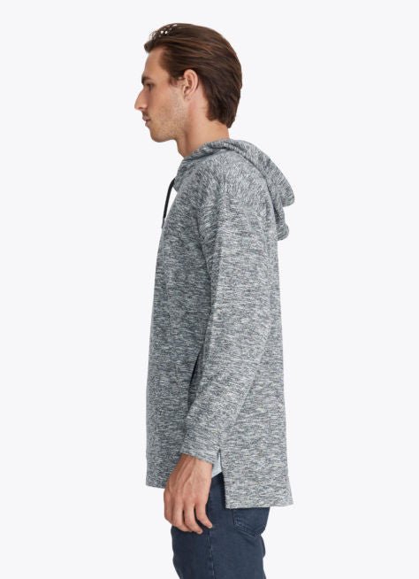 ZANEROBE RUGGER HOOD SWEATSHIRT IN STATIC GREY  - 5