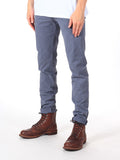 Scotch & Soda Stuart Slim-Fit Chino Pants in Dusty Blue  - 3