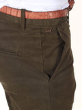 Scotch & Soda Slim-Fit Chino Pants in Olive  - 4