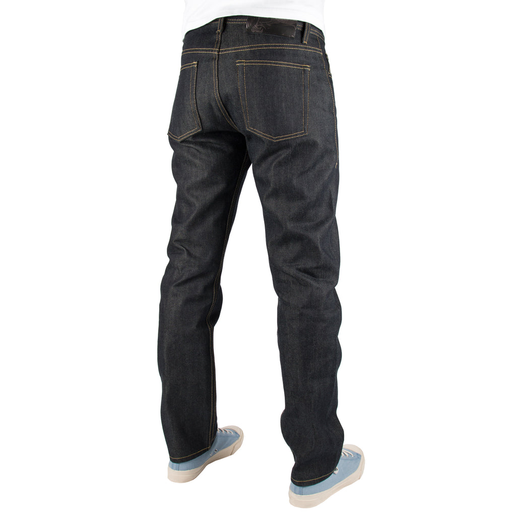 NAKED AND FAMOUS DENIM WEIRD GUY KEVLAR BLEND JEANS  - 2