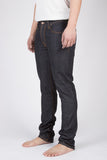 NUDIE GRIM TIM JEANS IN DRY NAVY RAW DENIM  - 1