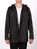 RAINS JACKET IN BLACK  - 1