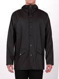 RAINS JACKET IN BLACK  - 2