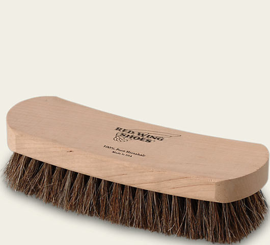 RED WING HORSE HAIR BOOT BRUSH