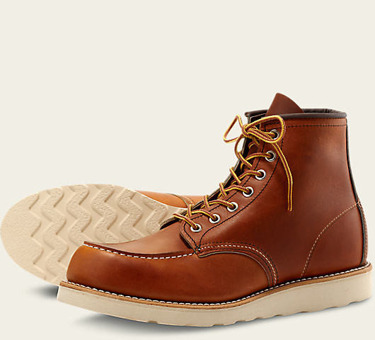 REDWING CLASSIC MOC BOOT IN ORO LEGACY LEATHER