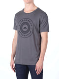 J Lindeberg Sev C Circle Snug Jersey T-Shirt in Rhino Grey  - 3