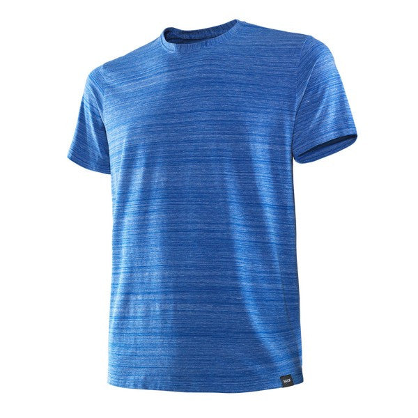 Saxx Ultra Tri-Blend Crewneck T-Shirt in Deep Water Heather