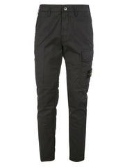 STONE ISLAND 5-POCKET CARGO PANTS IN CHARCOAL