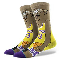 INSTANCE NBA LEGENDS SOCKS 'KAREEM-CARTOON'