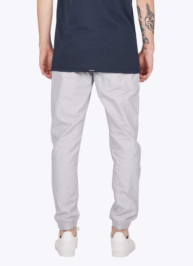 the best male fashion and streetwear style at boysco zanerobe tracer cargo jogger pant in stone grey back