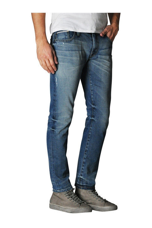 FIDELITY TORINO NARROW SLIM JEANS IN 9 YEAR AGED WASH