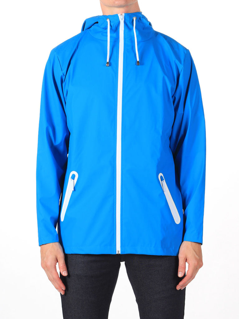 Rains Breaker Jacket in Sky Blue  - 3