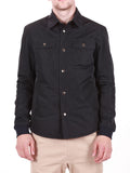 WORKSHOP WATER-RESISTANT SHIRT JACKET IN NAVY  - 2