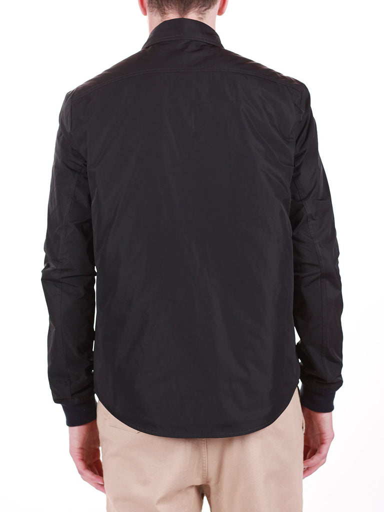 WORKSHOP WATER-RESISTANT SHIRT JACKET IN NAVY  - 4