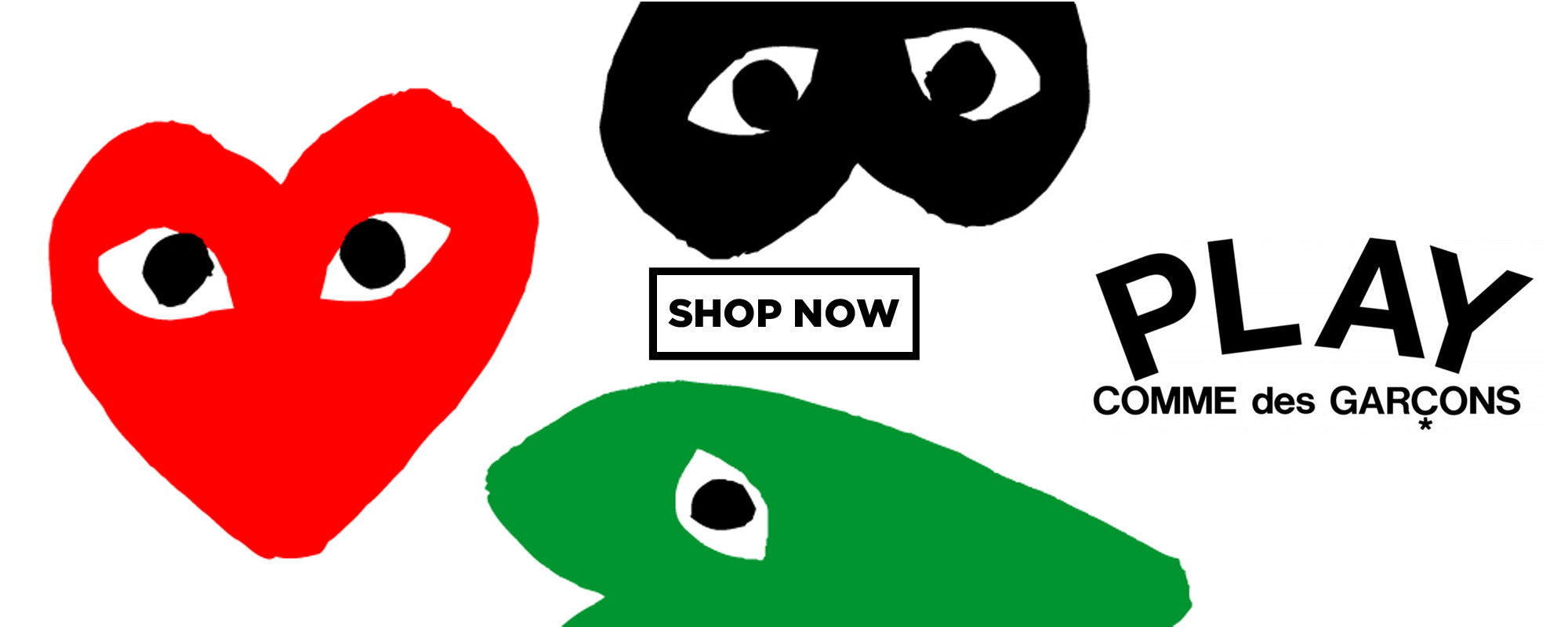 The Best Japanese Brands Online at Boys'Co: Shop Comme des Garcons PLAY Now!