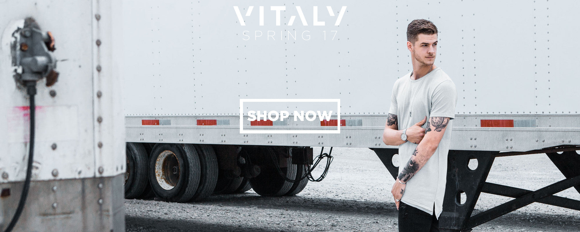 Get your hands on great urban style and streetwear style with Vitaly clothing and jewelry!