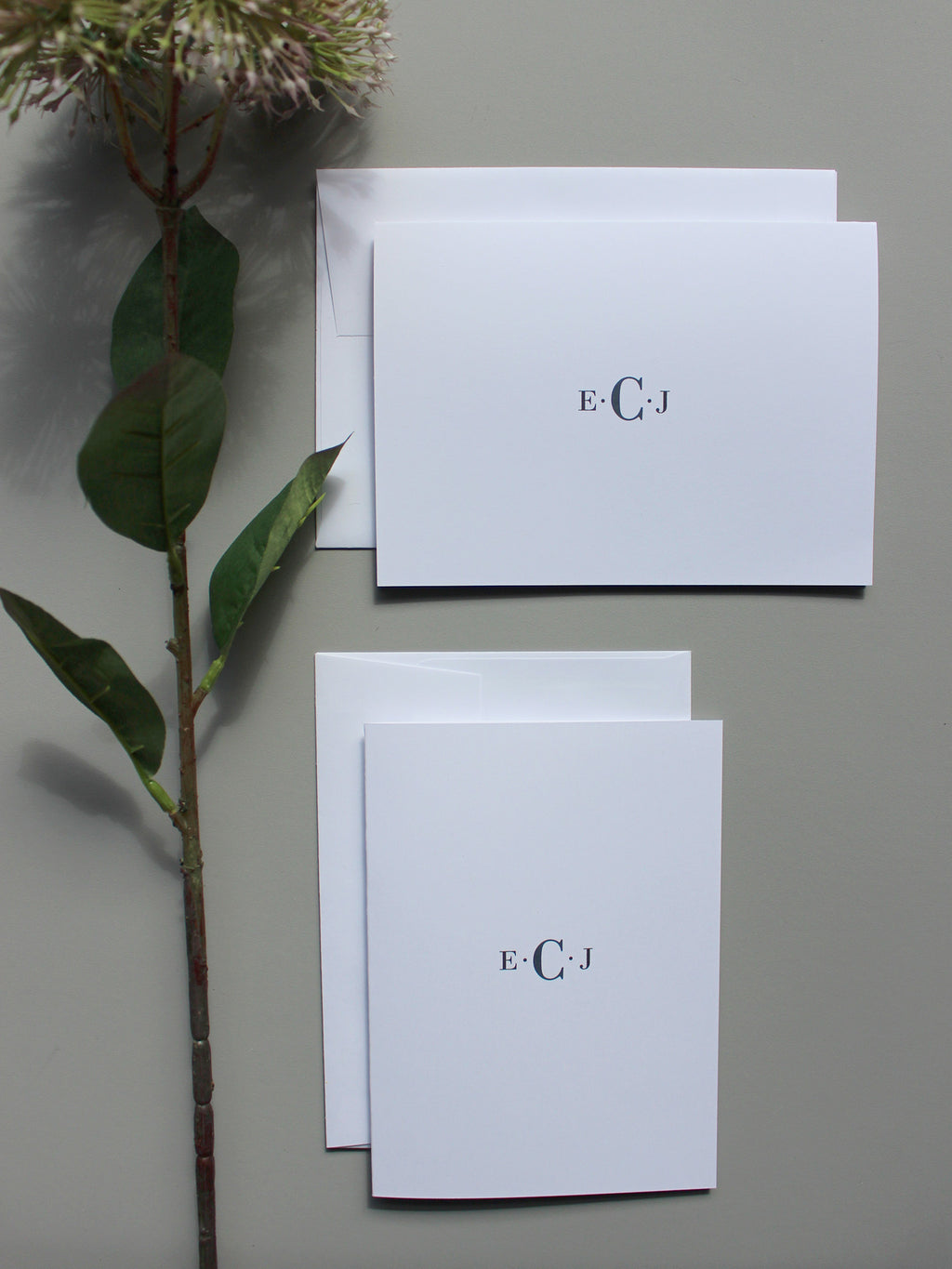 #7 Monoogram | Notepad + Notecards - [product_type] - Queen & Grace