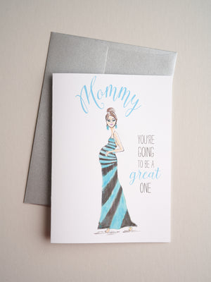 B-19-01 | Mommy - Greeting Cards - Queen & Grace
