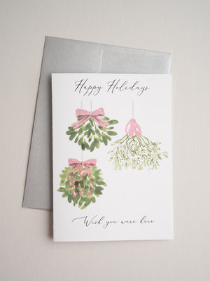 H-20-05 | Mistletoe - Greeting Cards - Queen & Grace