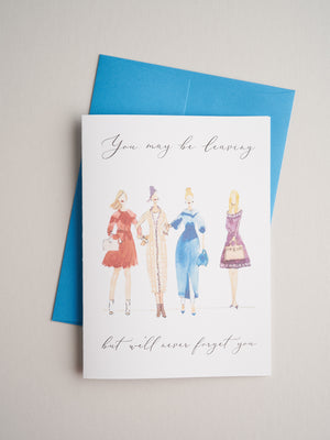 FW-18-02 | Leaving - Greeting Cards - Queen & Grace