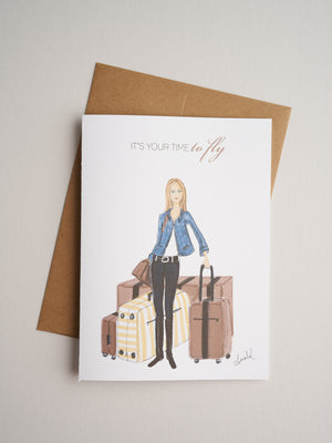 FW-16-19 | Fly - Greeting Cards - Queen & Grace