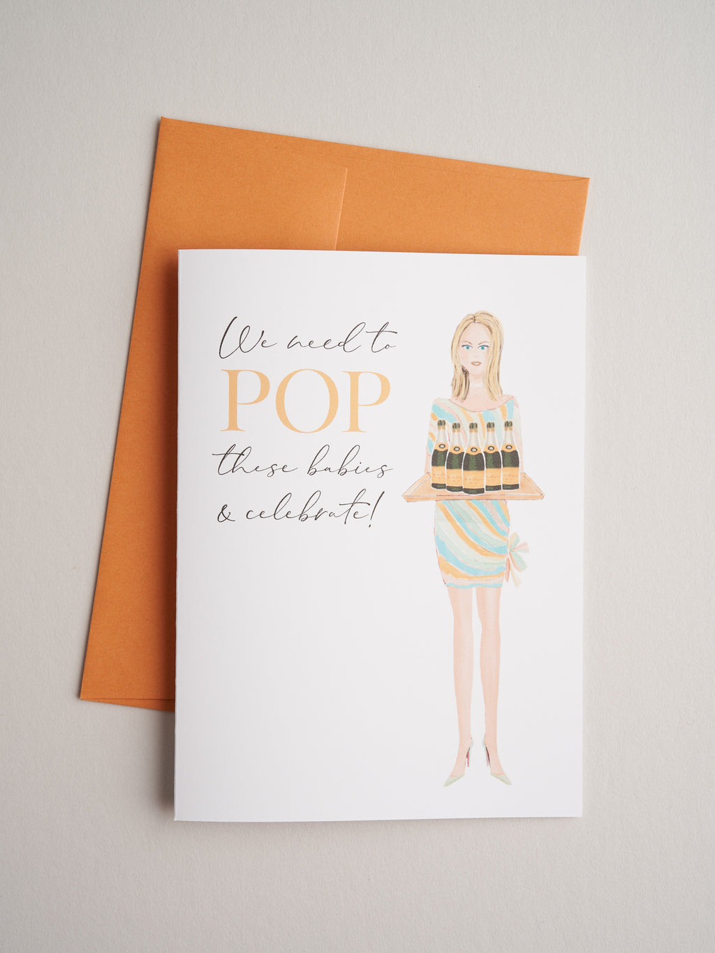 CG-20-02 | Pop! - Greeting Cards - Queen & Grace