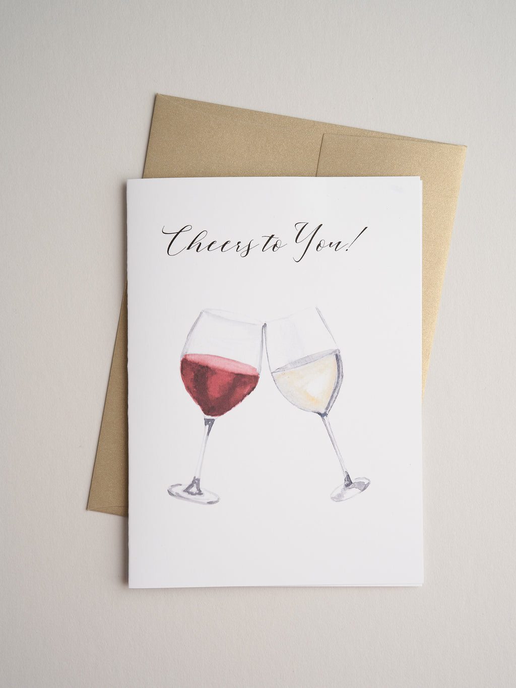 CG-19-07 | Cheers to You - Greeting Cards - Queen & Grace