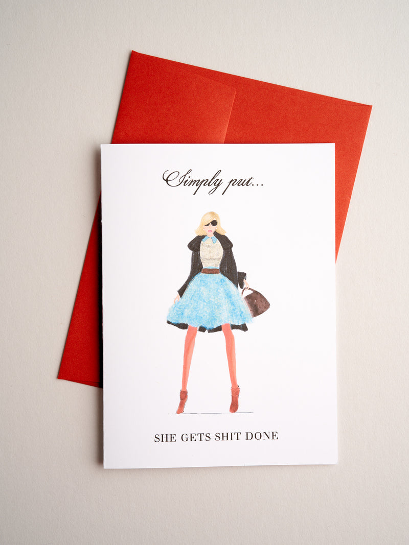 FR-14-02 | Simply Put - Greeting Cards - Queen & Grace