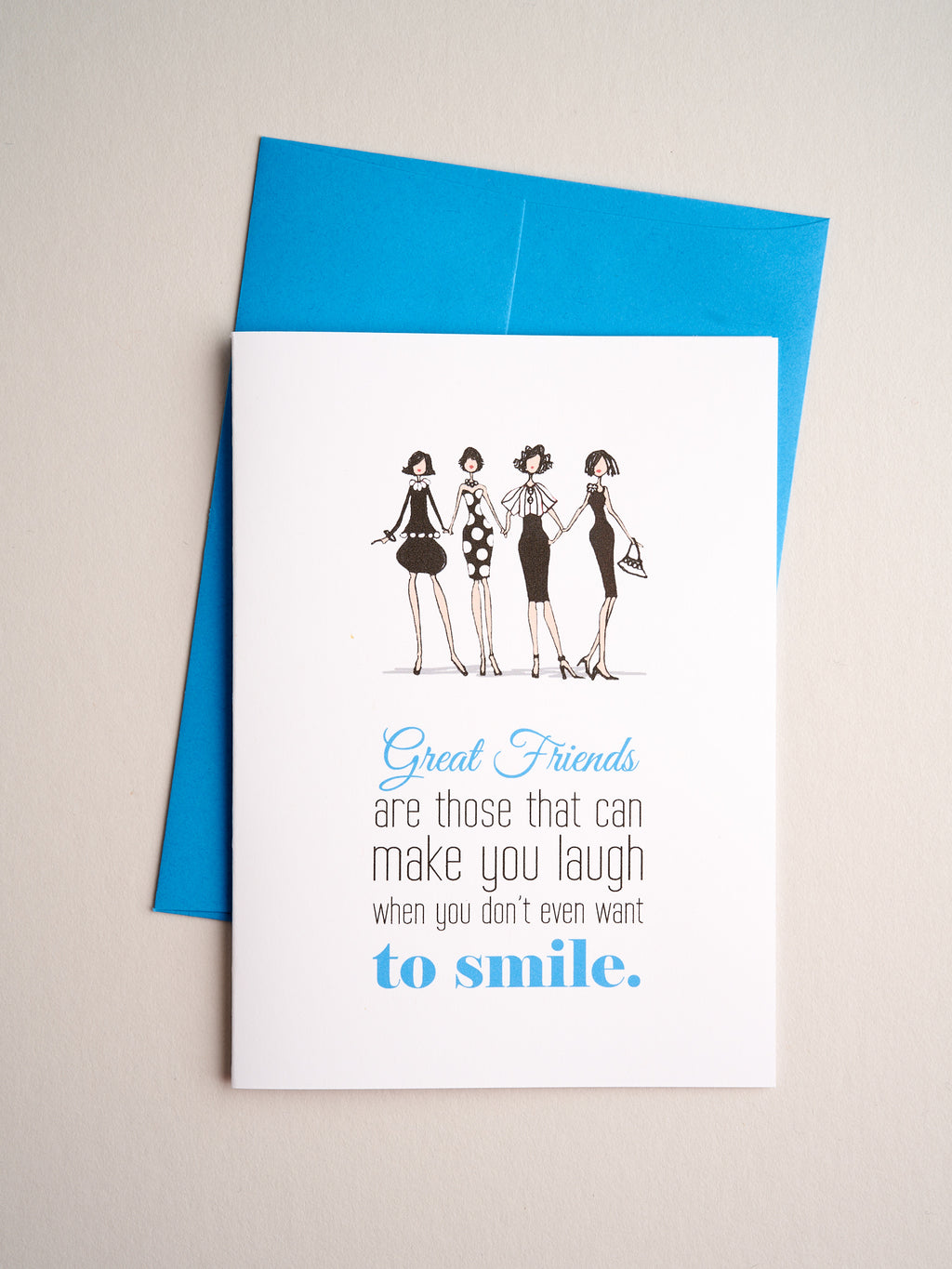 FR-F-11-52 | Laugh & Smile - Greeting Cards - Queen & Grace