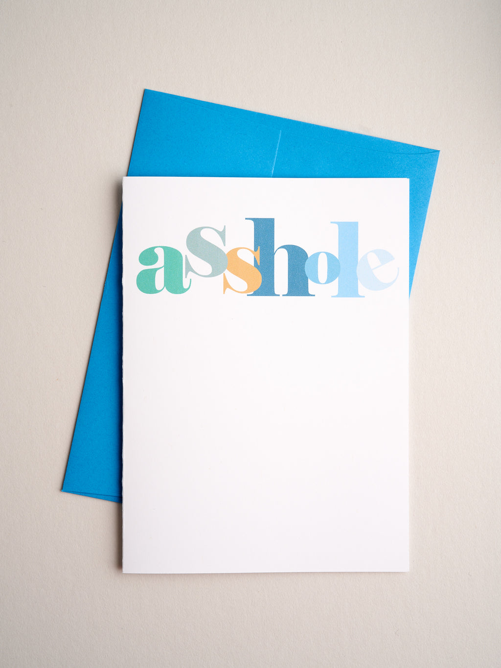 FR-20-03 | Asshole - Greeting Cards - Queen & Grace
