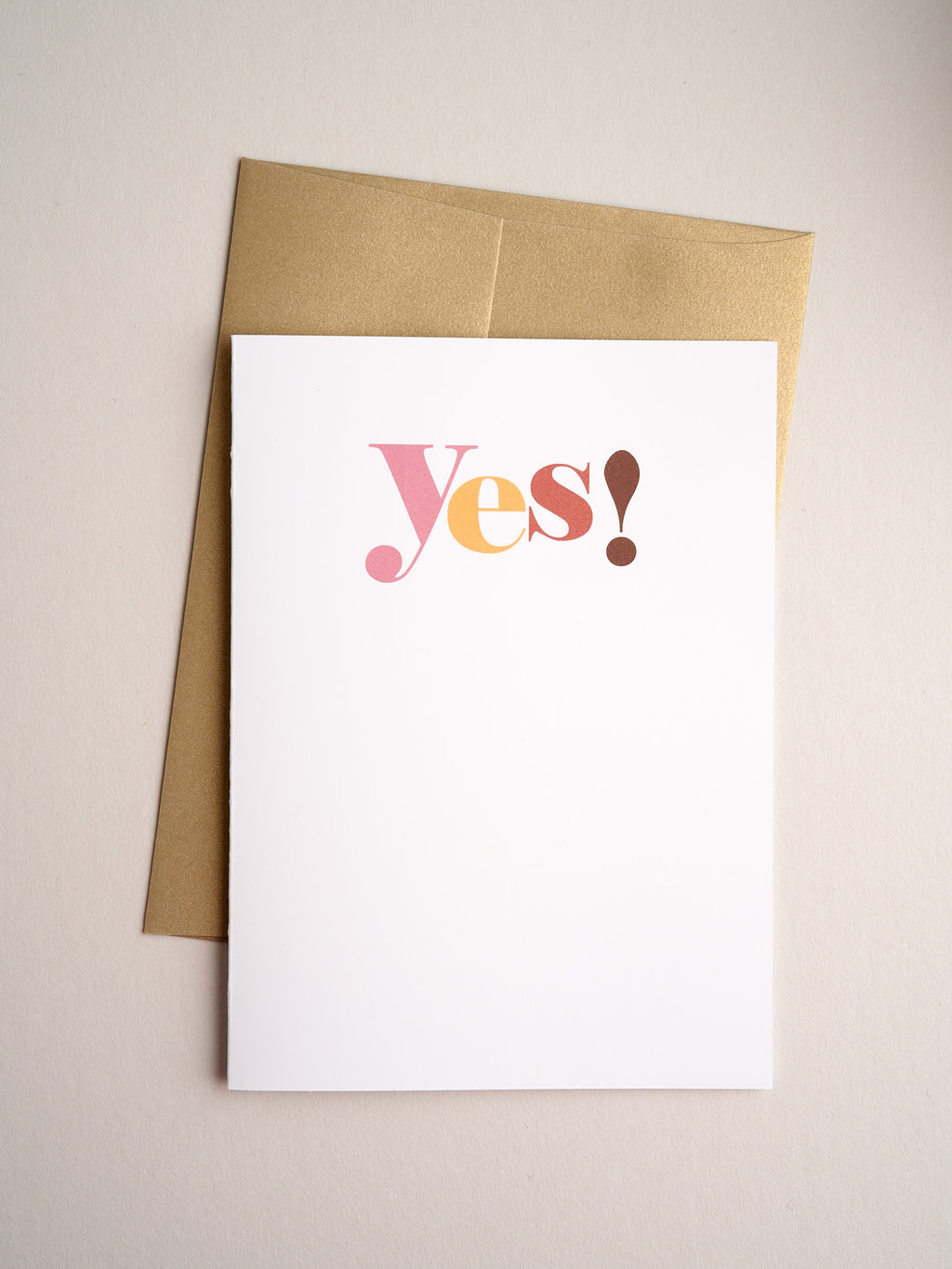 FR-20-06 | Yes! - Greeting Cards - Queen & Grace
