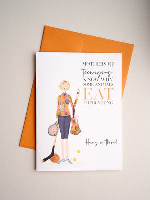 FR-R-08-02 | Teenagers - Greeting Cards - Queen & Grace