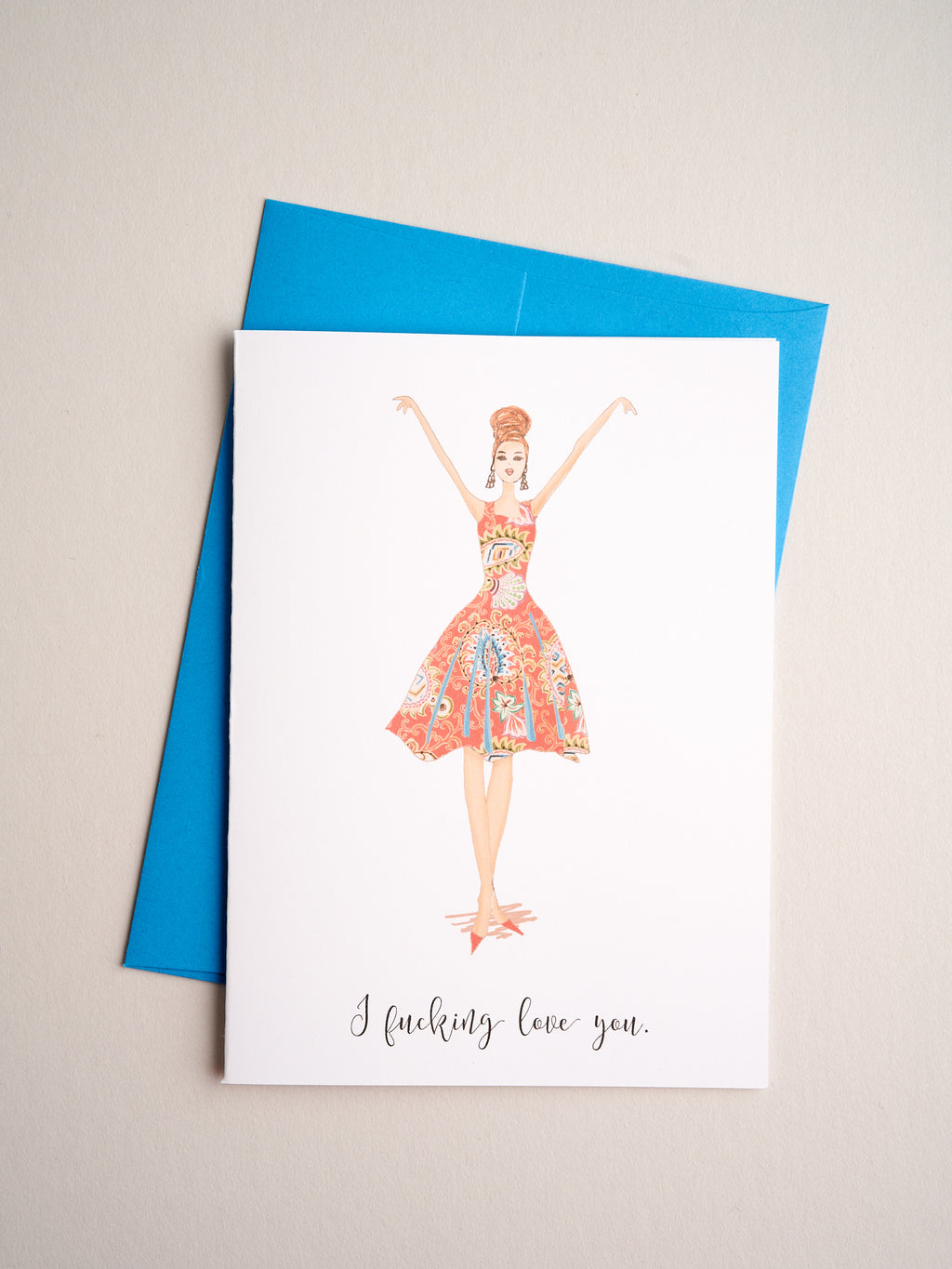 FR-R-08-16-B | F-ing Love you - Greeting Cards - Queen & Grace