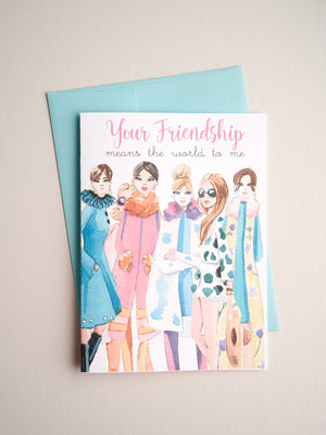 FR-19-02 | Friendship Me - Greeting Cards - Queen & Grace