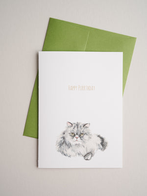 BD-20-12 | Purrthday - Greeting Cards - Queen & Grace