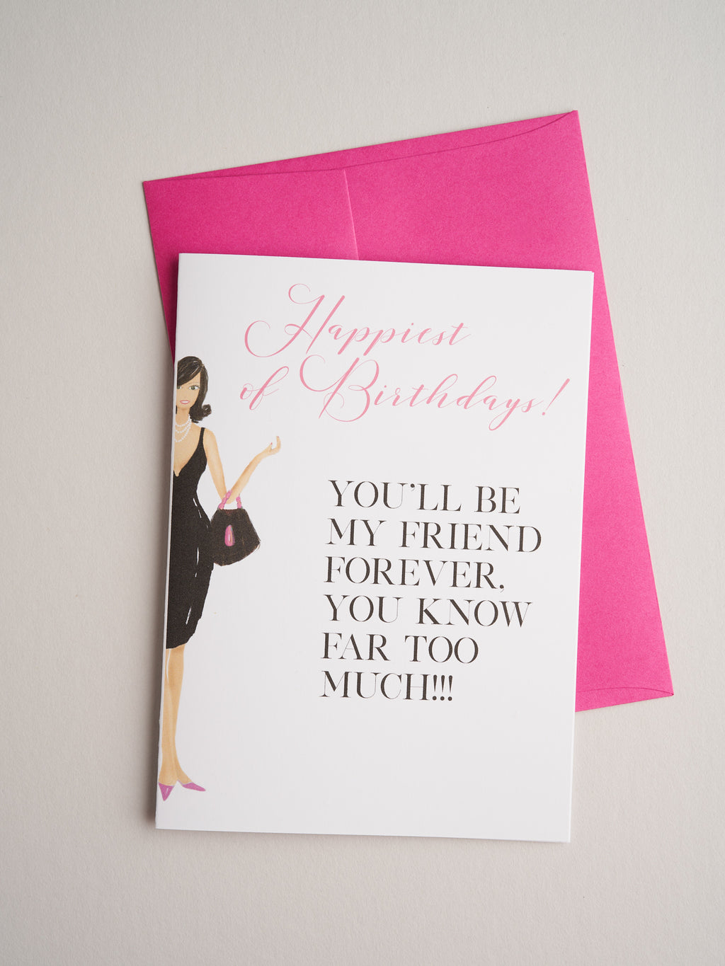 BD-19-25 | Friend Forever - Greeting Cards - Queen & Grace