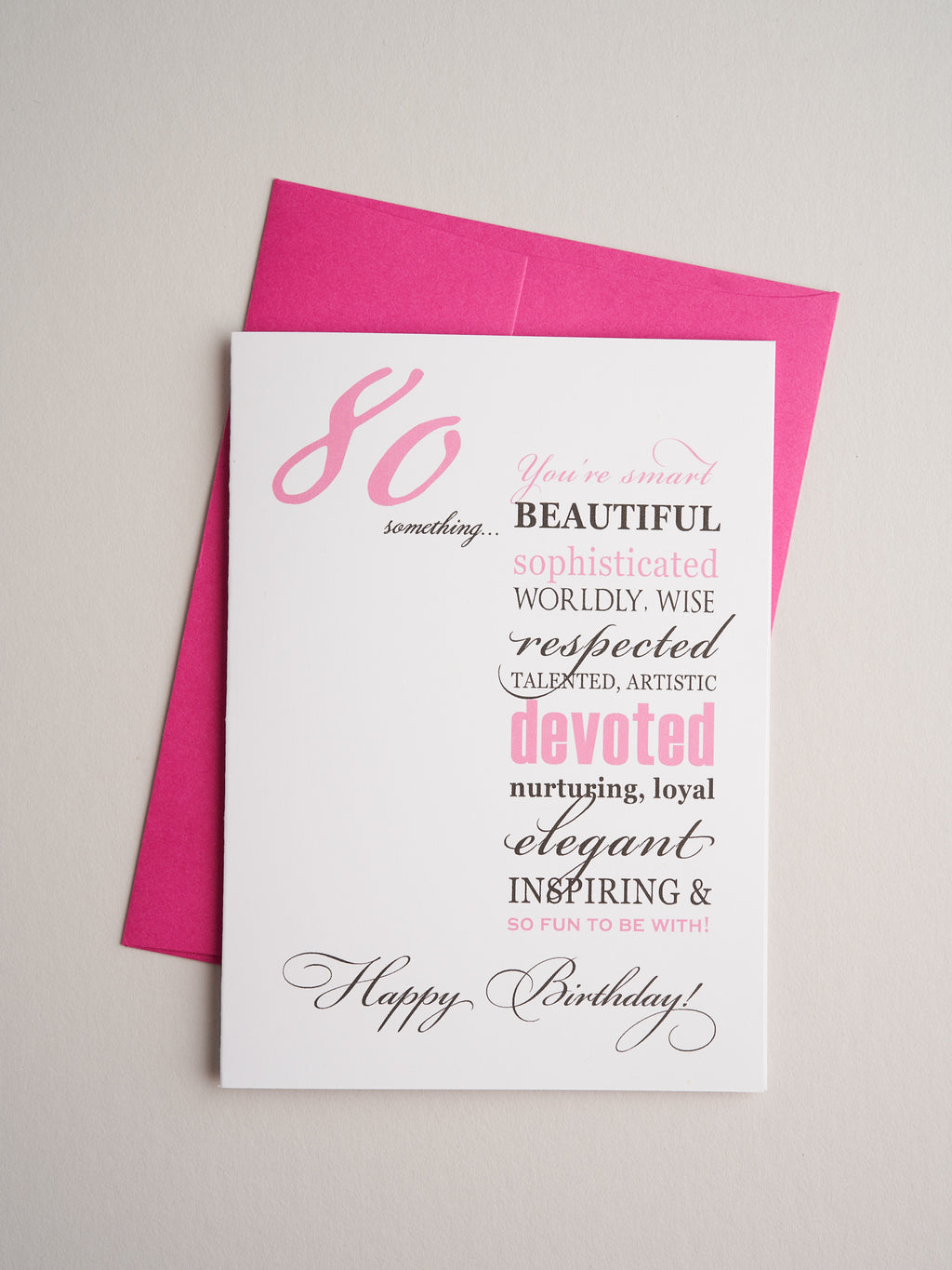 BD-14-12 | Eighty Something Woman - Greeting Cards - Queen & Grace