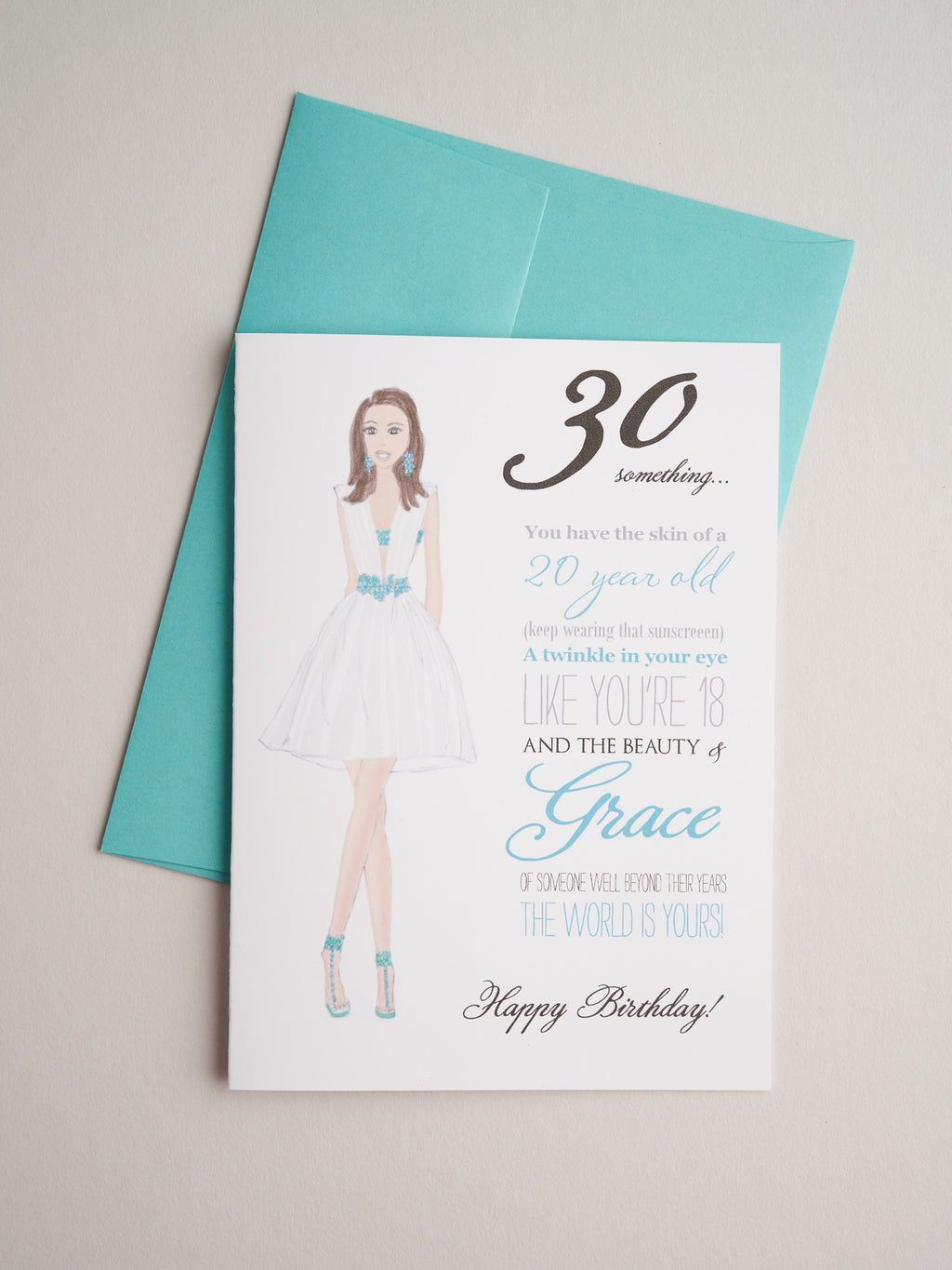 BD-14-19 | Thirty Something Woman - Greeting Cards - Queen & Grace