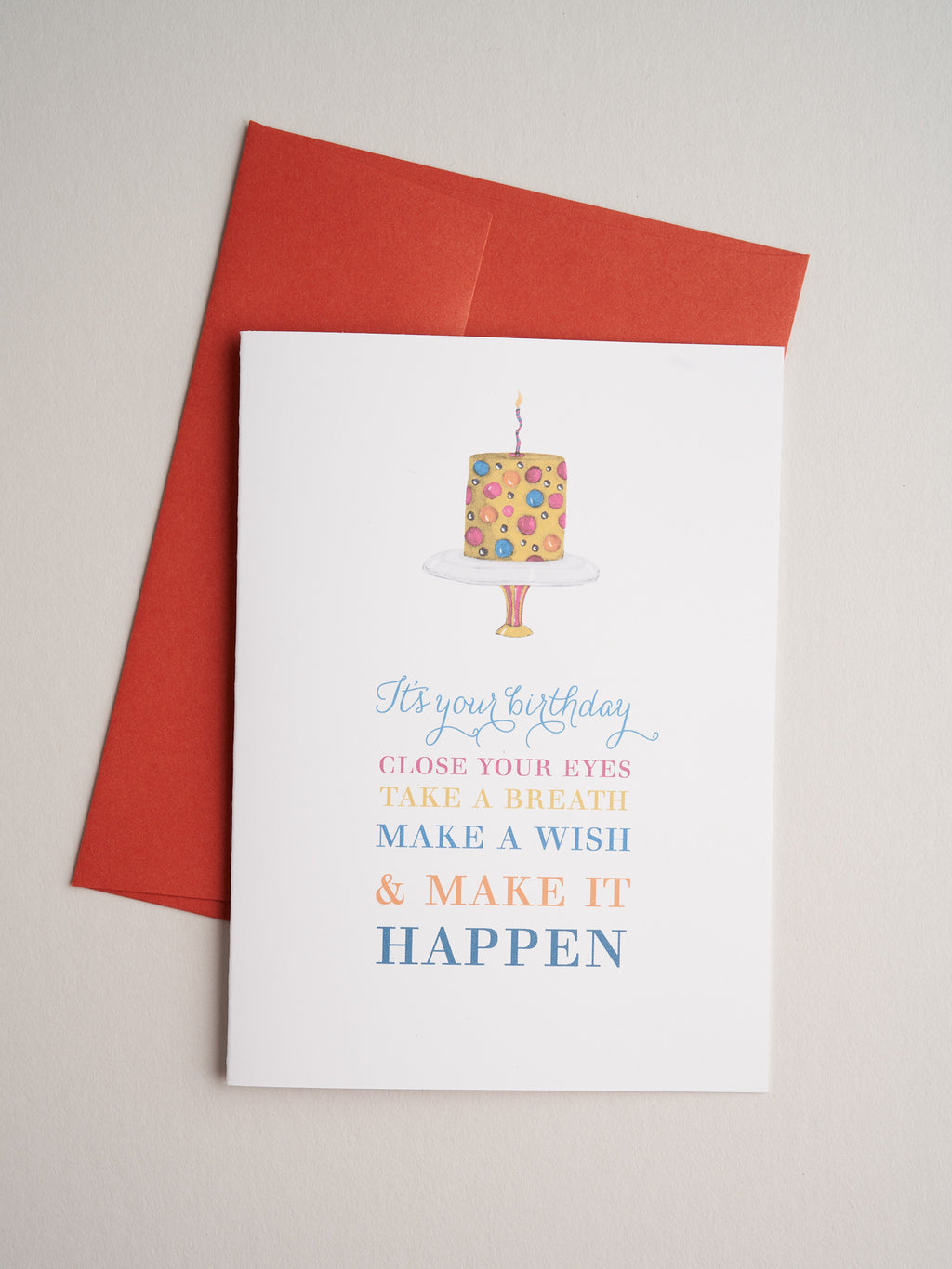 BD-14-03 | Piece of Cake - Greeting Cards - Queen & Grace