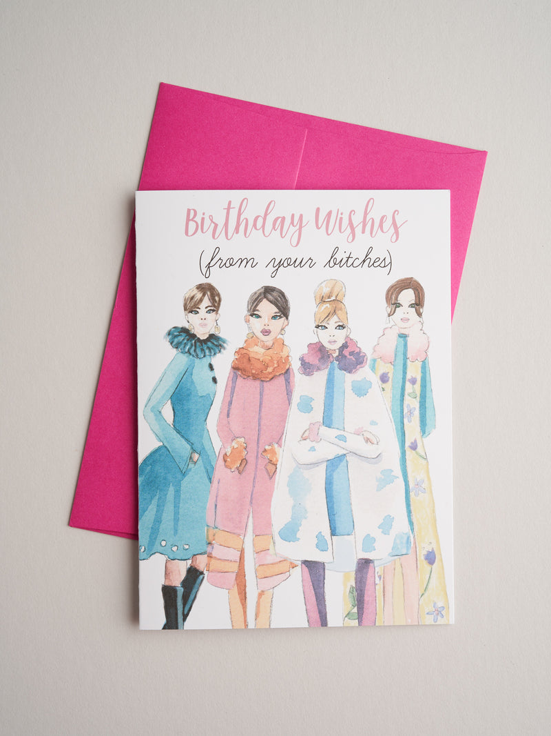 BD-19-06 | Bitches - Greeting Cards - Queen & Grace