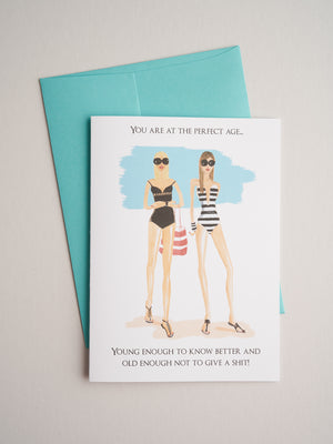 BD-14-36 | Perfect Age - Greeting Cards - Queen & Grace