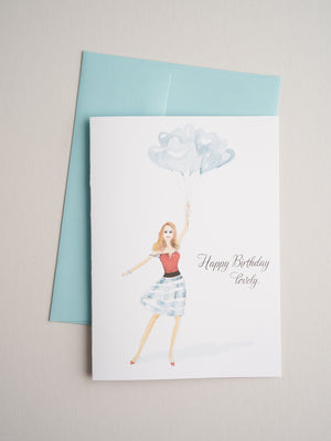BD-14-35 | Balloons - Greeting Cards - Queen & Grace