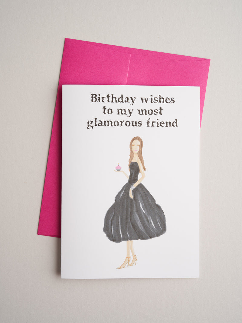 BD-C-08-09 | Glam Friend - Greeting Cards - Queen & Grace
