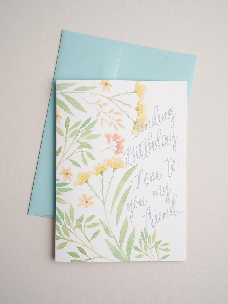 BD-17-40 | Birthday Love New - Greeting Cards - Queen & Grace