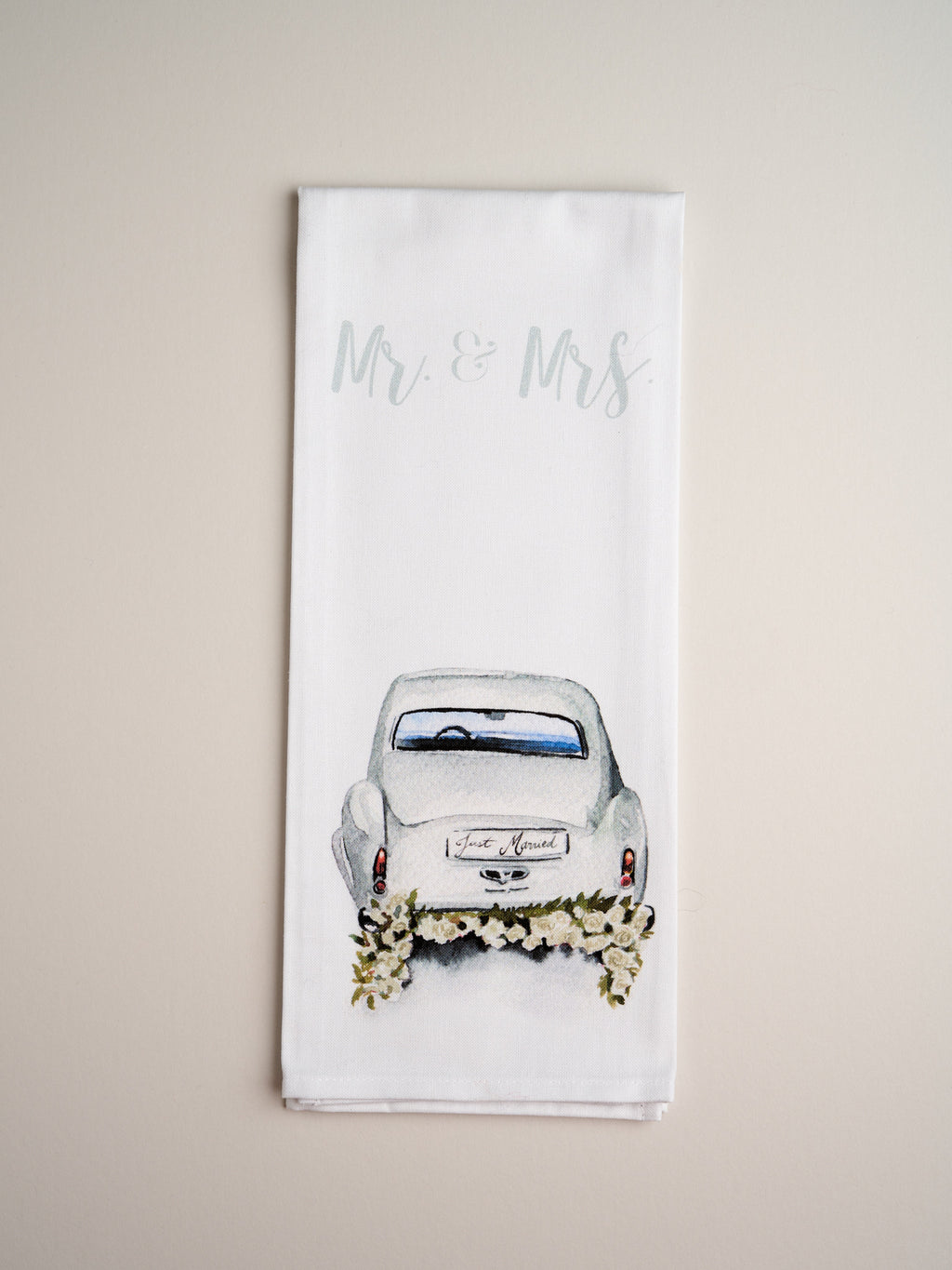 TEA TOWELS | Mr + Mrs