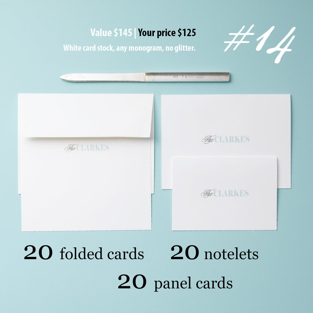 Stationery Set #14