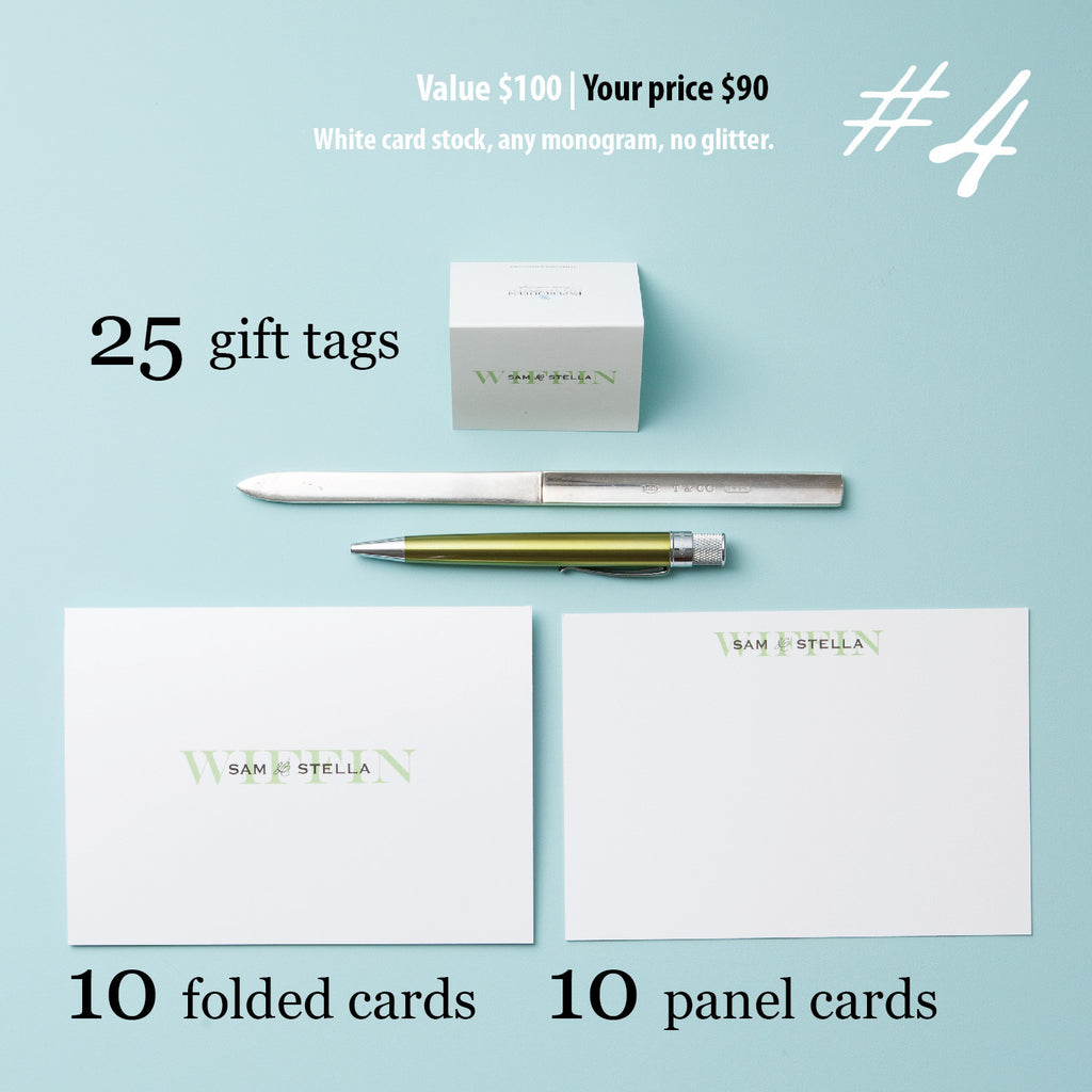 Stationery Set #4