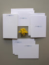#4 Monograms | Notepad + Panel + Folded Notecards - [product_type] - Queen & Grace