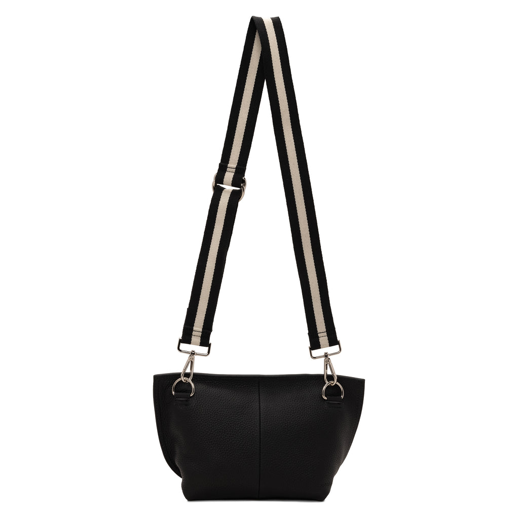 Evie Carry-All Cross Body Handbag | Black